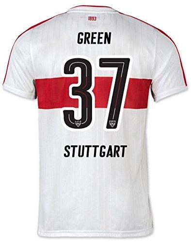 Wölfe Home Trikot (Trikot Jungen Puma VfB Stuttgart 2016-2017 Home (Green 37, 152))