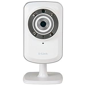 D-Link DCS-932L IP/WLAN Überwachungskamera (Wireless N, Aufnahmen bei Tag & Nacht, integrierter Bewegungssensor und Mikrofon, mydlink-App für iOS/Android, E-Mail-Benachrichtigung)