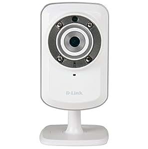 D-Link DCS-932L Videocamera di Sorveglianza Wireless N, Visore Notturno, Rilevatore di Movimenti e Suoni, Notifiche Push per iPhone/iPad/Smartphone