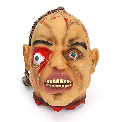 en-bar-Kammer Dekoriert Mit Geist Haus Horror Anhänger Kette Körper Blutgeschnitten Ghost Head Szene Requisiten l Extragroße Guillotine (konvexes Auge) ()