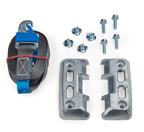 Bosch Sortimo L-BOXX Halter ProSafe VPE2 + 3m Prosafe Zurrgurt | Lbox Halterung & Klemmschlossgurt | Idealer Zurrgurt für Ladeflächen Befestigung