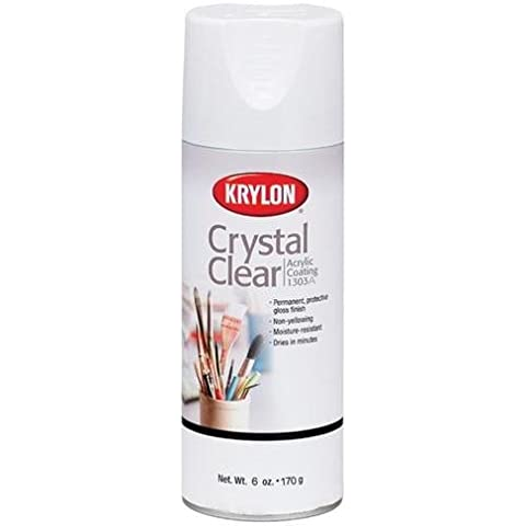 Crystal Clear rivestimento acrilico Aerosol Spray-6