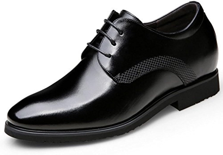 Zapatos De Cuero Simples De Los Hombres Zapatos De Negocios Ocasionales Everyday