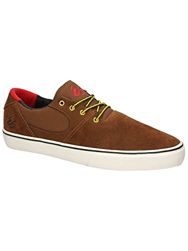 Herren Skateschuh Es Accel Sq Skateshoes Brown/Tan