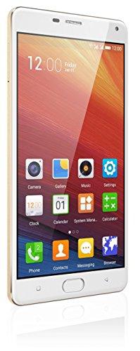 Gionee Marathon M5 Plus Smart Phone, Polar Gold image