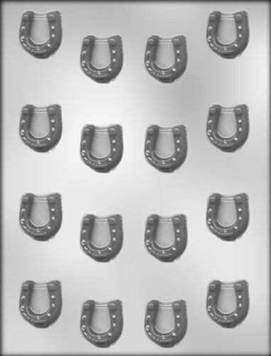 CK Products 1 - 0,32 cm Chocolate shaped horseshoe pendant from CK Products