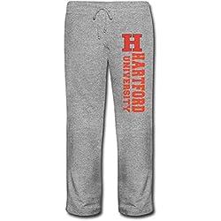 Hartford Universidad Geek elástico de la cintura de la mujer algodón rendimiento pantsfleece Sweatpants negro