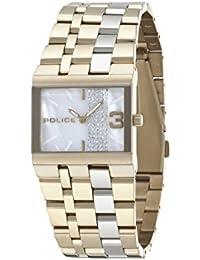 INTELIHANCE. 10501BSG/28M - Reloj de cuarzo para mujer, correa de acero inoxidable chapado color dorado