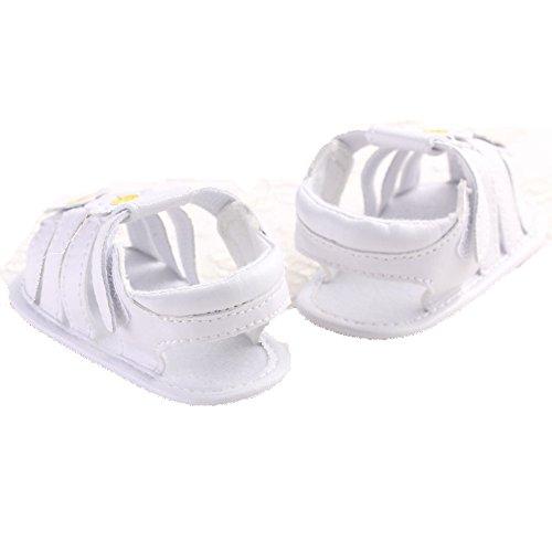 Etrack-Online , Baby Jungen Lauflernschuhe Weiß weiß 12 - 18 Monate weiß