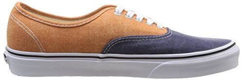 Vans U Authentic, Unisex-Erwachsene High-Top Sneaker Mehrfarbig (Peacoat/Golden Ochre)