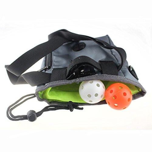 crestgolf Leckerli Training Tasche mit verstellbarem Gürtel und witzigen Hundekotbeutel Eule (2Kugeln für kostenlos)