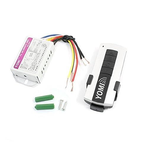 AC 220V 3 Chaîne Lumière On/Off Sans-fil Récepteur Télécommande