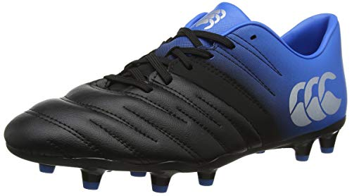 Canterbury Phoenix 2.0 Soft Ground Scarpe da Rugby Uomo, Nero (Phantom 733), 42 EU