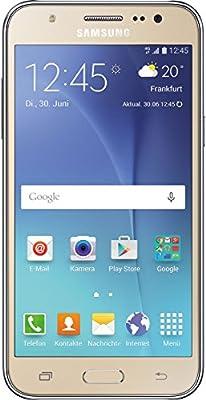 Samsung Galaxy J5 - Smartphone de 5'' (Android, 4G, cámara de 13 MP, memoria interna de 8 GB, Super AMOLED), dorado