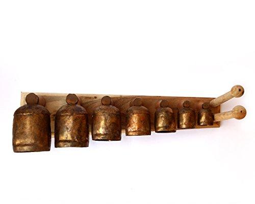De Kulture Baseball-Kappe funktioniert Bell Maßstab IDIOPHON | indischen Musik Instrument | Folk Marimba Percussion Instrument | Percussion Chime | Folk Xylophon | Folk Vibraphon