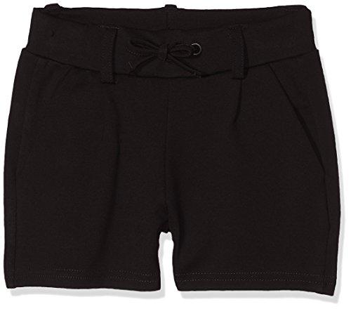 Name IT NOS Mädchen NKFIDA SHORTS NOOS Shorts per pack, Schwarz (Black), 122 (Herstellergröße: 122)
