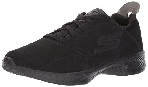 hot sales 71382 1b474 Skechers Go Walk 4, Entrenadores para Mujer, Negro (Black), 36 EU