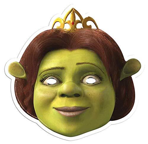 Shrek Offiziell tollkühne Held - Fiona - Gesichtsmasken aus steifen Karten (Halloween-masken Shrek Fiona)