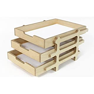 Schreibtisch Organizer, Schreibtischablage, Papierablage, Schreibtischplatte aus Holz, Ablage aus Holz, Schreibtischzubehör, Schreibtisch Zubehör, Kleiner Schreibtisch, Industrieller Schreibtisch