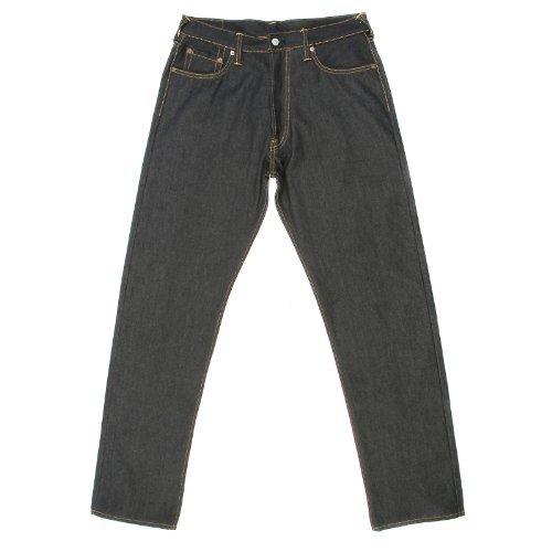 Evisu Jeans bestickt Bonsai Baum Denim Jean evis4270 Gr. 36, blau