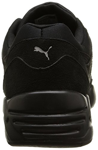 Puma R698, Baskets Basses homme Noir (Black/Drizzle)