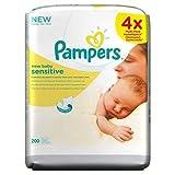 Verwöhnt Neues Baby Empfindlichen Wischtücher (50 X 4 Pro Packung)
