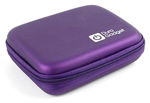 Handliches Hartschalen-Etui (Lila) der Marke DuraGadget für Ihren HP Sprocket Drucker | Sprocket 2-in-1 mit Sofortbild-Kamera