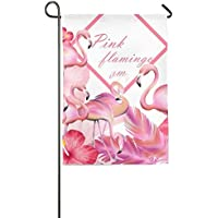 Goden jinhua Pink Flamingos Outdoor Flag Garden Flag Demonstration Flag Family Party Flag and Competition Flag