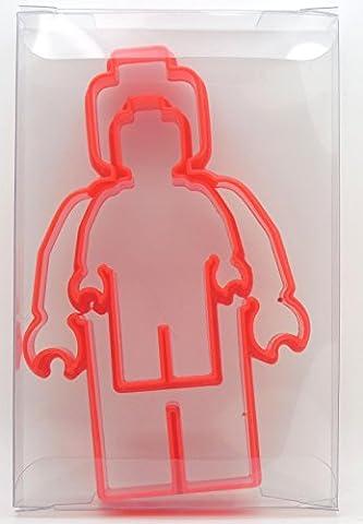 Goggly Lot de 2emporte-pièces à pâtisserie, biscuits, cookies en forme de figurines en Lego
