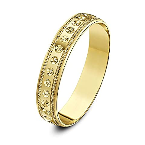 Theia Homme Mixte femme 9 carats (375/1000) Or jaune|#Gold