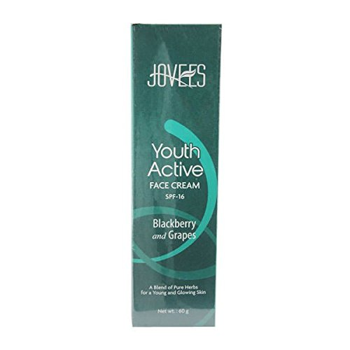 Jovees Youth Active Face Cream - Spf 16 (Blackberry & Grapes) - 60gm