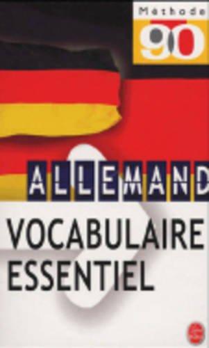 Vocabulaire de l'allemand d'aujourd'hui par Collectif