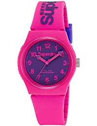Superdry Analog Purple Dial Unisex Watch - SYG164PV