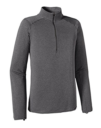 Patagonia Capilene Thermal Weight Zip Neck Shirt Men - Thermoshirt forge grey/feather grey x