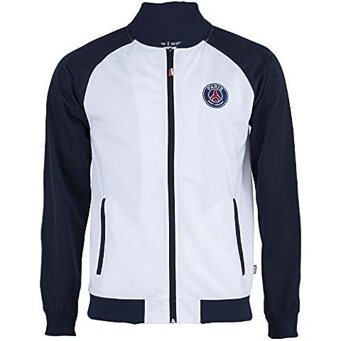 Veste zippée PSG - Collection officielle Paris Saint Germain - Taille adulte homme L