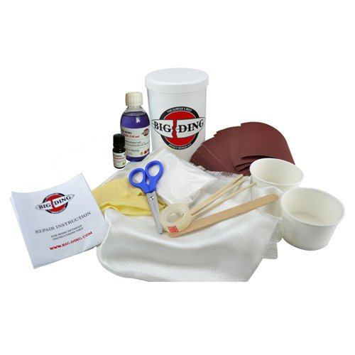 BIG DING Polyester Surfboard Repair Kit 250ml Resin