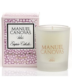 Empire Celeste Candle 1.2 oz by Manuel Canovas by Manuel Canovas