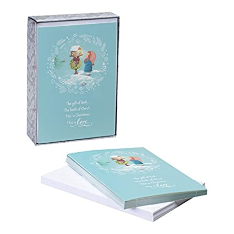 DaySpring Christmas Boxed Cards Gift of God (8198359950)