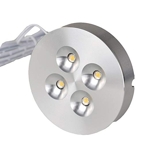 Lámpara montada sobre encimera Lámpara LED Ultra Delgada para gabinete Blanco Natural