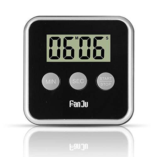 succeedw Stoppuhr Timer Digitale Küchenuhr Mit Starkem Magnetrücken, Countdown, Lautem Alarm, GROßEM Display ZUM Kochen, BACKEN, SPORTSPIELE, BÜRO