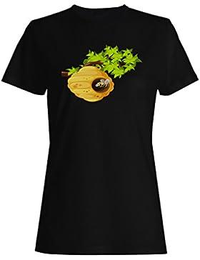 Novedad divertida salvaje de la miel de la abeja camiseta de las mujeres b254f