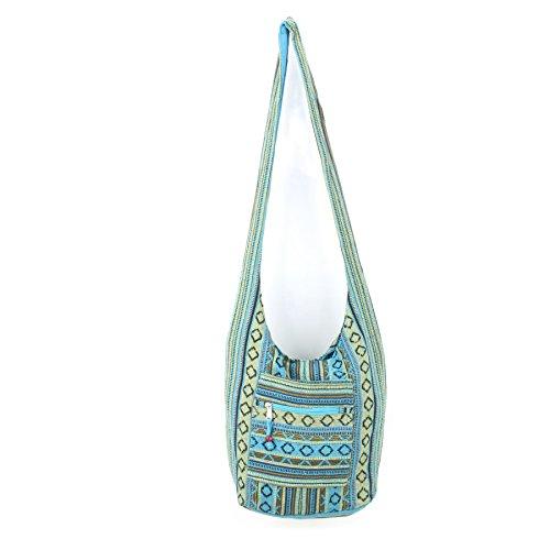 Caravan Diamond Canvas Sling Bag