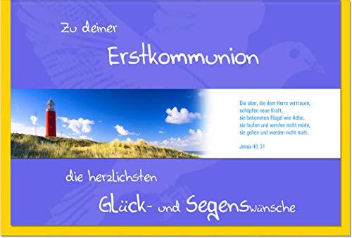 metALUm Karte zur Kommunion LEUCHTTURM   1011035S