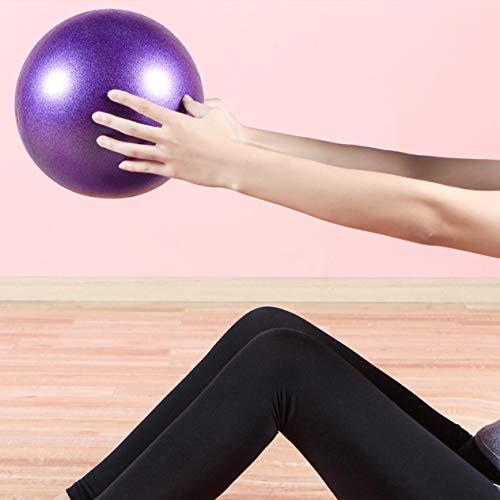 EdBerk74 Kleine Yoga Fitness Ball Professionelle Anti-Rutsch Yoga Bälle Balance Sport Fitball Proof Ball Für Heimtraining (Ball Balance Kleine)