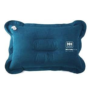 Naturehike - Oreillers de voyage / gonflable coussin de Voyage, Diminuer la Pression Cervicale / Léger Gonflable Portable Air Pillow, Camping & Festival (Bleu)