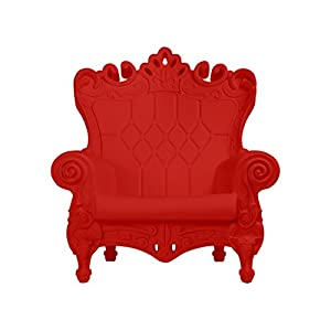 Design of Love Little Queen of Love Baby Armchair Flame Red
