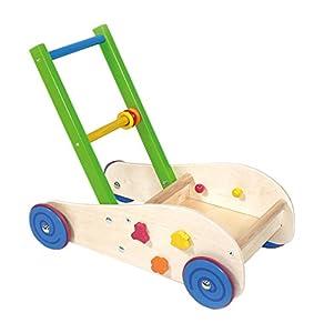 Hess 31177de Madera Wagon Walker bebé Juguete