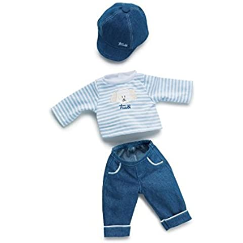 Trudi 64346 Doll's Clothes - 36 cm - Including Jeans by Trudi