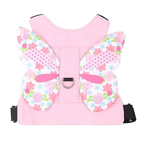 Kleinkind Anti Lost Sicherheitsgurt, Baby Walking Sicherheitsgurt Nettes Kind Kid Assistant Strap für 1-3 Jahre Jungen und Mädchen nach Disneyland, Zoo oder Mall (Pink)