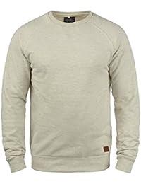 ce41237a4061c Blend Alex Pull en Sweat Sweat-Shirt pour Homme avec Encolure Rond Doublure  Polaire